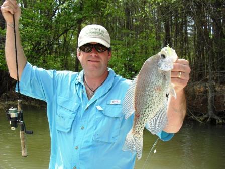 Crappie fishing trips lake allatoona fishing guide service for Lake allatoona fishing guide