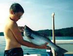Kids Fish Free on Orion Fishing Charters
